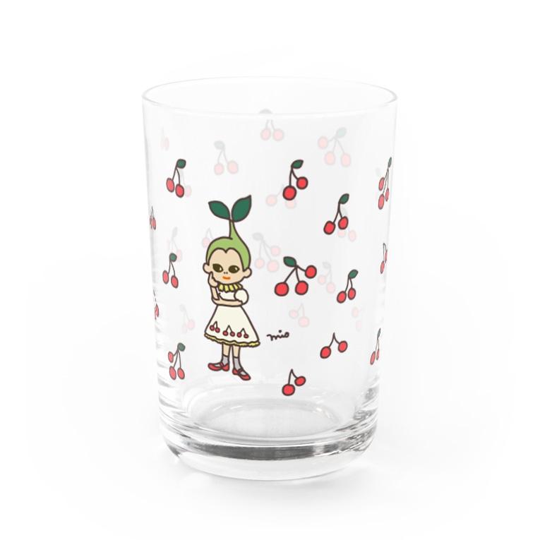 さくらんぼガール(さくらんぼあり)グラス