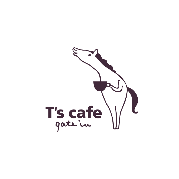 画像:T's cafe gate inロゴ